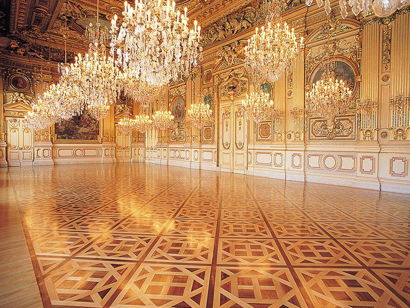 Versailles Parquet Panels in Lyon City Hall