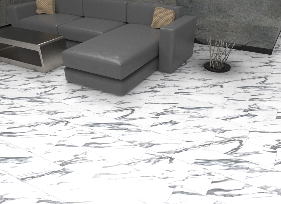 Luxury Rigid Waterproof Vinyl Tiles