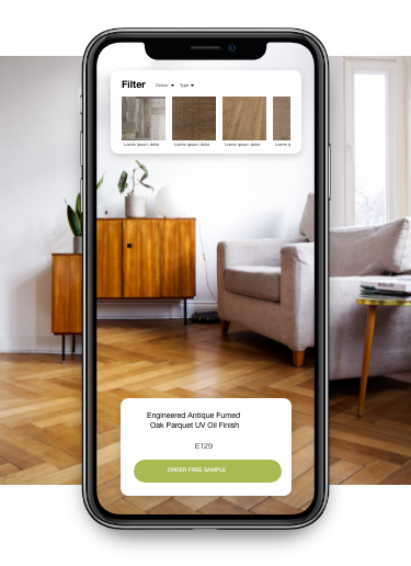 The Solid Wood Flooring Room Visualiser - Mobile