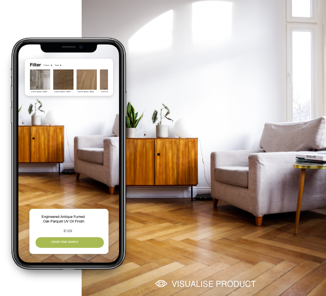 The Solid Wood Flooring Room Visualiser - Desktop