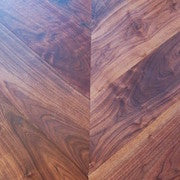 Chevron Parquet Block Engineered American Walnut