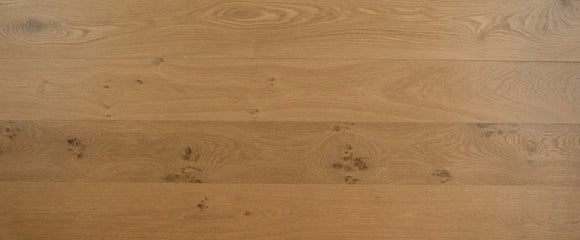 Engineered Deep Fumed Double Brushed Raw Timber UV Oiled Oak | E156