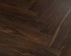 Black Walnut Luxury Impervia Herringbone Parquet Flooring | IMP-HB-C501