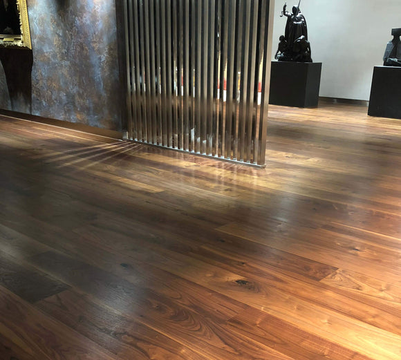 Black American Walnut Flooring Hard Wax Oil Finish | E509 3L
