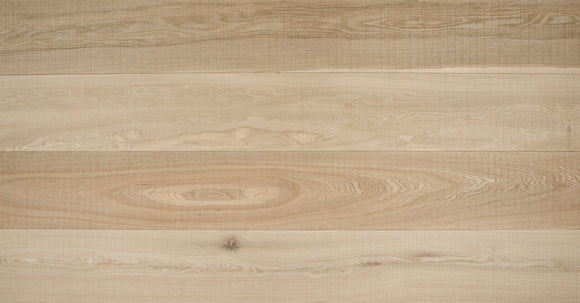 Band Sawn Brushed Natural Oak Flooring Wax Oil Finish