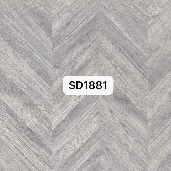 Cobble Grey Chevron Parquet Optimum Flooring | SD1881