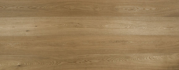 Light Brushed Fumed Oak Flooring UV Oiled Finish | E124T