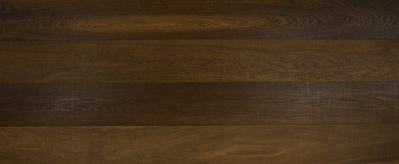 Band Sawn Brushed Fumed Oak Flooring Oiled Finish | E129