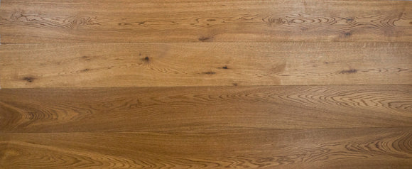 Deep Fumed Double Brushed Oak Flooring Oiled Finish | E161