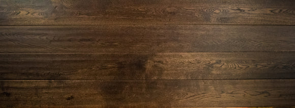Antique Burnt Oak Flooring Lacquered Finish | E307LN