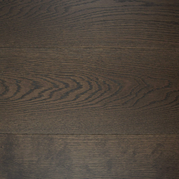 E353LN | Brushed Select Grade Dark Brown Oak Lacquered Finish