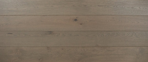 Brushed Graphite Oak Flooring Lacquered Finish | E379