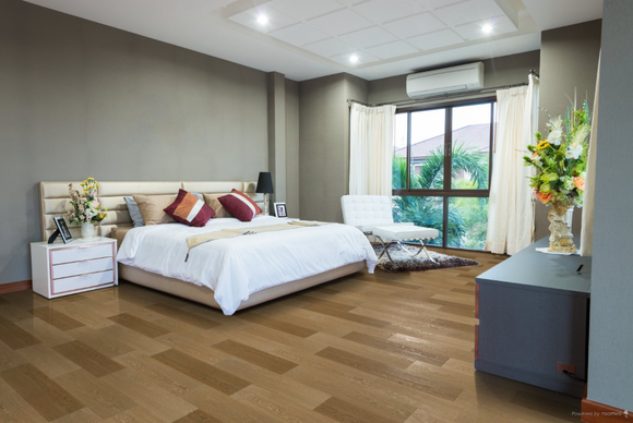 Engineered Unfinished Double Brushed Fumed White Oak | TW-E751UF