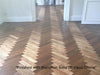 Unfinished Quarter Sawn Parquet Flooring | TW-E952UFT
