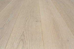 Brushed White Hard Wax Oiled European Oak Flooring | EO-122 YSJ