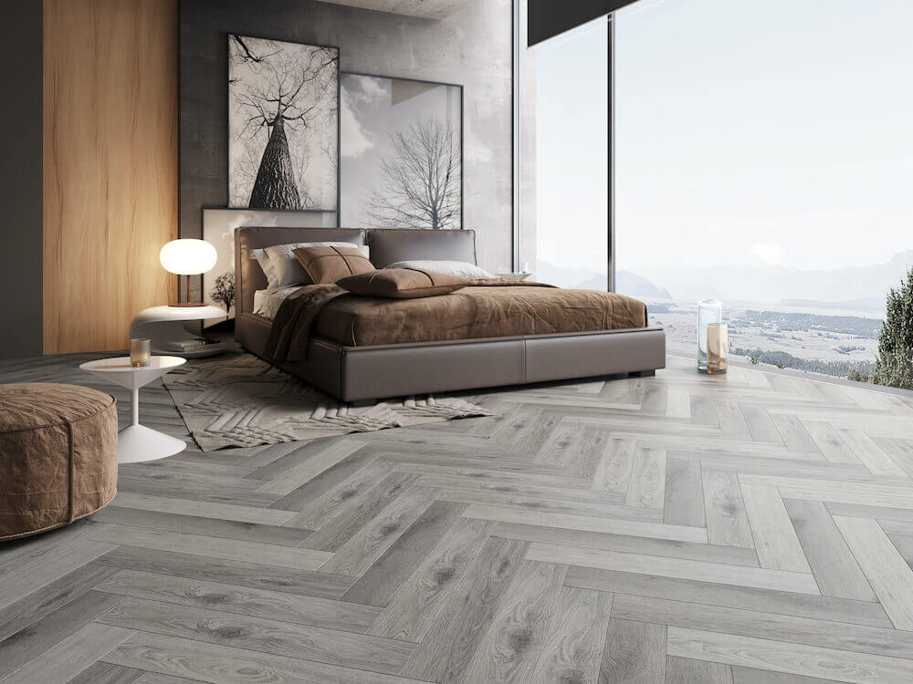Impervia French Grey Vinyl Luxury Flooring