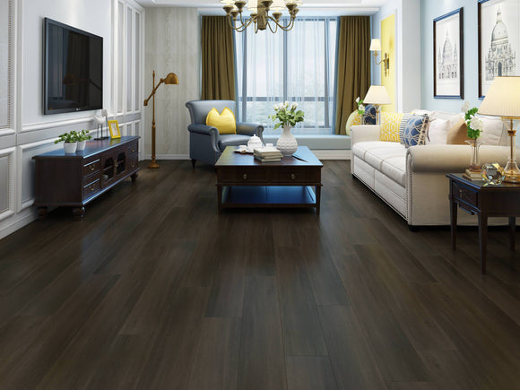 Deep Fumed Oak Luxury SPC Rigid Vinyl Flooring