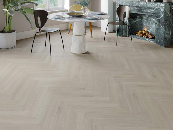 Impervia Luxury Herringbone Scandinavian Oak Flooring