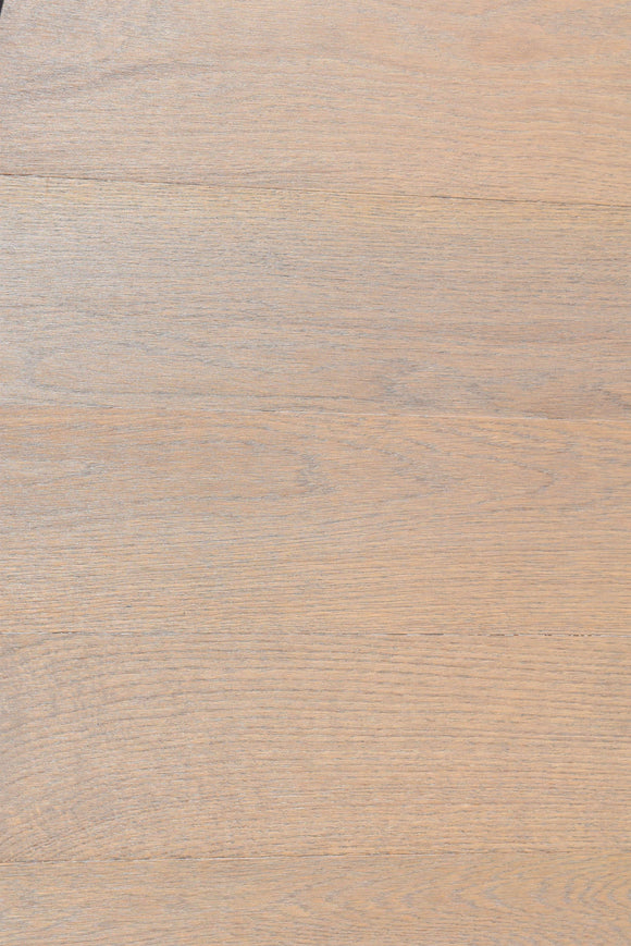 Lightly Fumed and Smoked Oak Herringbone with Snow Oil coat | E212T Snow