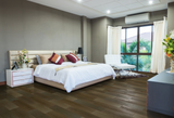 Brushed Volcanic Grey Oak Flooring UV Oil Finished | TW E752
