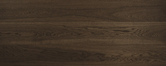 Brushed Dark Walnut UV Cured Oak Flooring | TW-E735UV 3L (190) XY