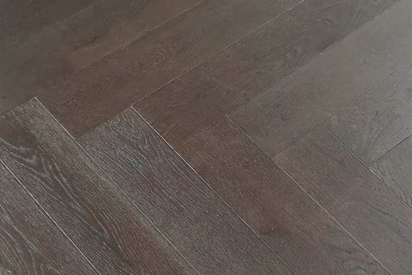 Burnt UV Oiled Oak Herringbone Parquet | TW-E913 YSJ (15mm)