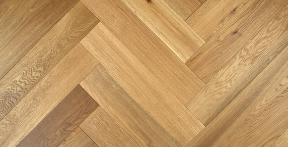 Prime Grade Brushed Fumed Oak Herringbone Parquet | TW-E924