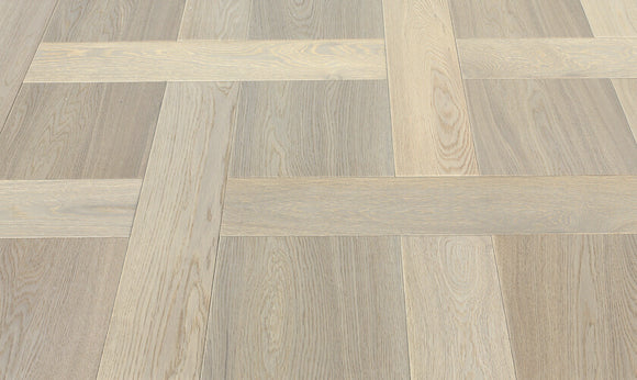 White Oak Basketweave Parquet Flooring | TW-E942SQ & TW-E942