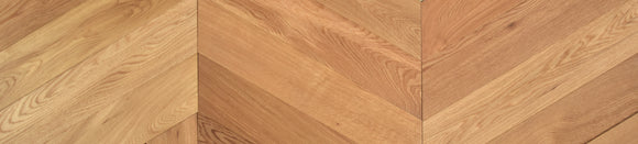 60 Degree Chevron Engineered Select Grade Oiled Oak | TW-E965