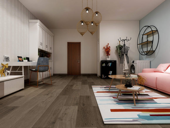Espresso Luxury SPC Rigid Vinyl Flooring
