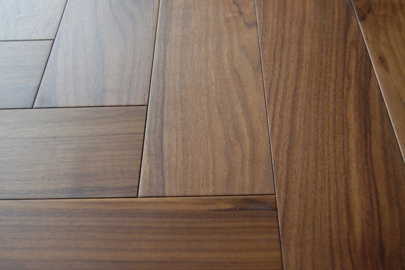 Herringbone Parquet Select Grade Walnut Engineered | TW-E951