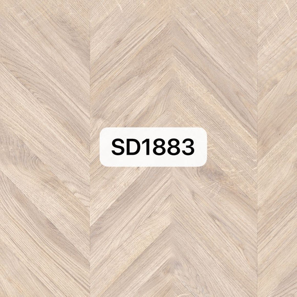 White Washed Chevron Parquet Optimum Flooring | SD1883