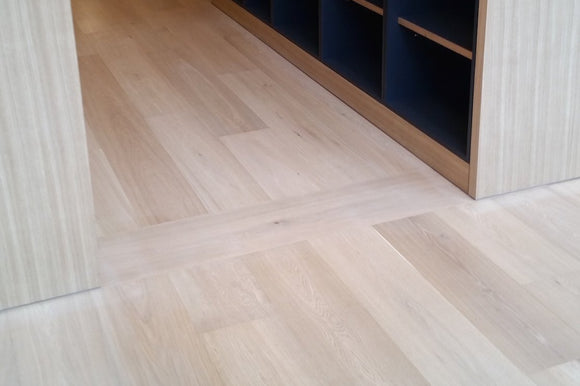 Select Grade Wide White Oak Flooring Unfinished | E157UF
