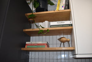 We Offer Bespoke Solid Oak Shelving