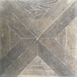 Distressed Oak French Parquet Panel