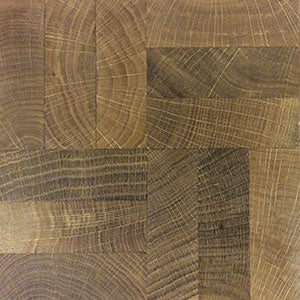 End Grain Mosaic Oak Flooring