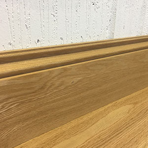 Natural Oak Ogee Skirting Board