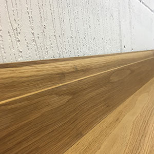 Oiled Oak Ovolo Skirting Board