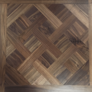 American Black Walnut Versailles Panel | P826 Walnut