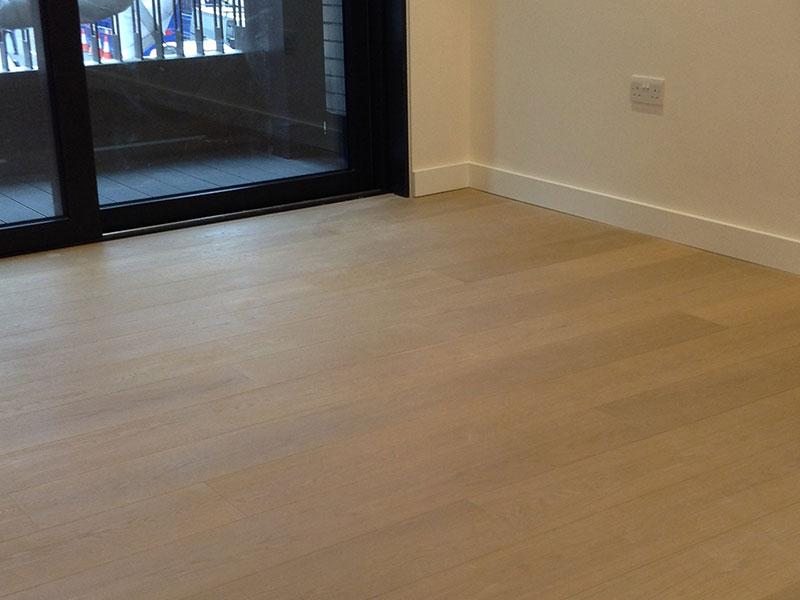 Brushed Fumed Latte Oiled Oak 189mm Wide