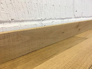 Raw Timber Band Sawn Oak Skirting Board | E781 SK
