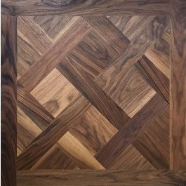 Walnut Versailles Parquet Panel
