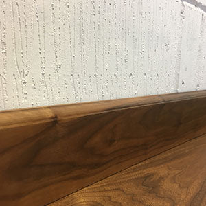 Walnut Ovolo Skirting Board