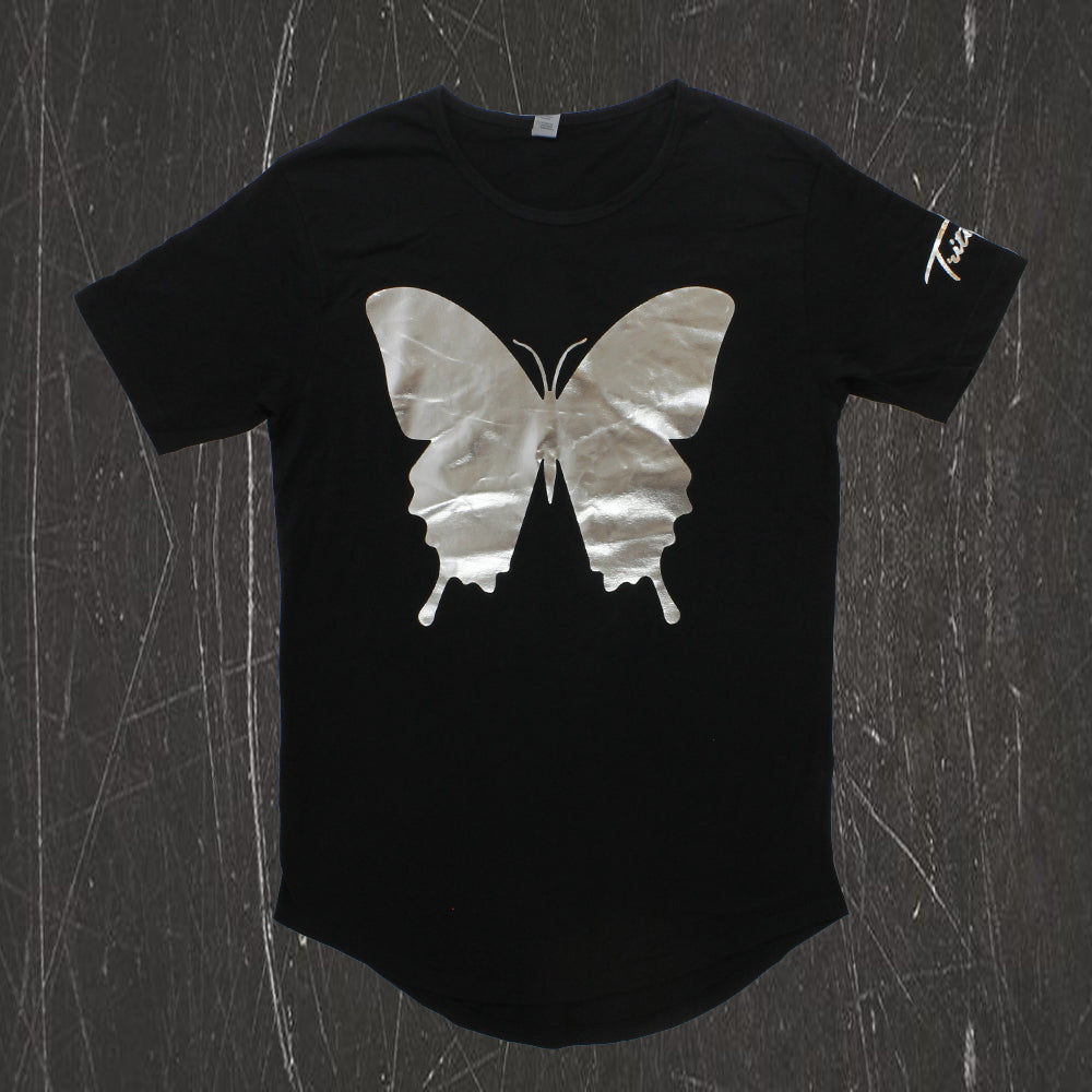 Tritonal - Painting With Dreams Silver Foil Scoop Neck Tee