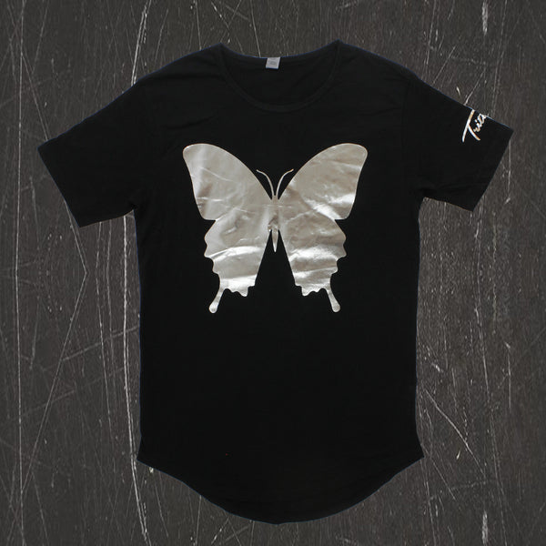 Tritonal - Painting With Dreams Silver Foil Crew Neck Tee
