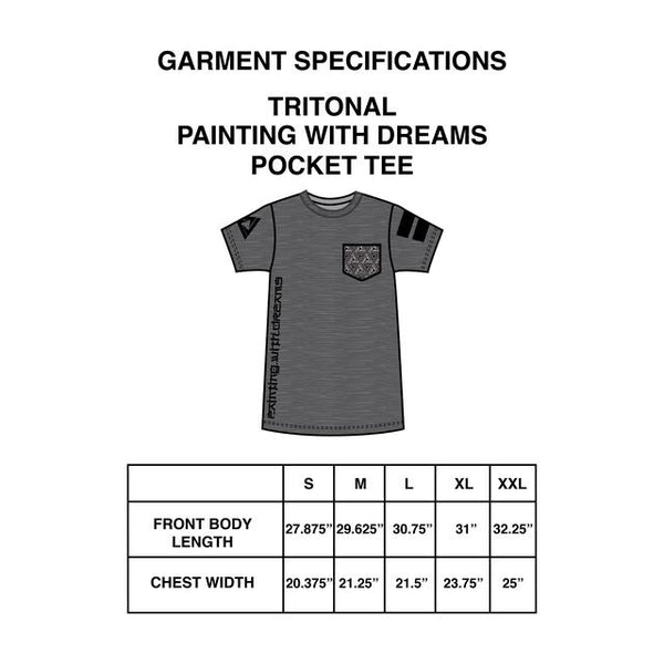 Trtitonal - Painting With Dreams Pocket Tee