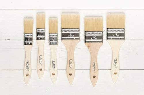 Fusion Synthetic Flat Brushes