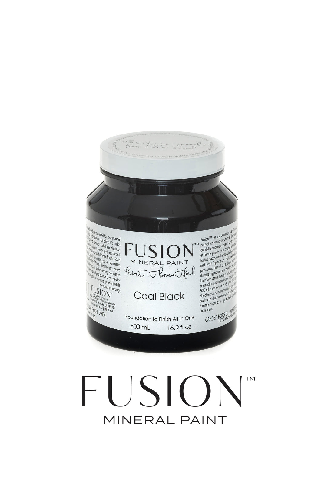 Fusion Mineral Paint Classic Collection - Coal Black