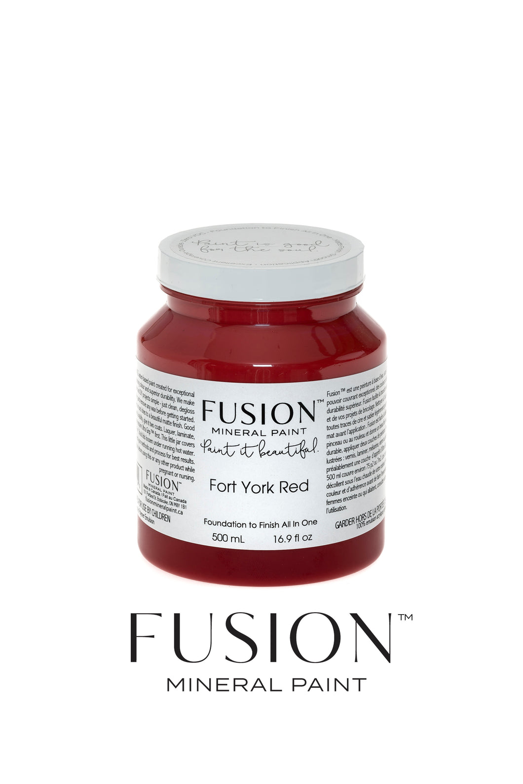 Fusion Mineral Paint Classic Collection - Fort York Red