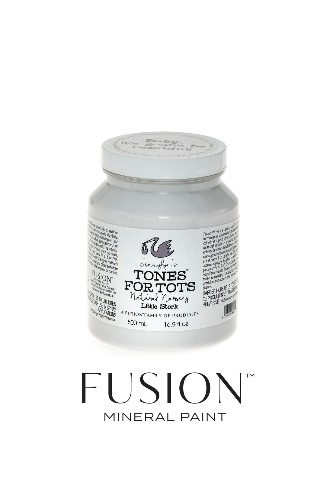 Fusion Mineral Paint Tones for Tots - Little Stork